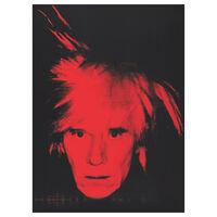 Andy Warhol exhibition book (hardback)
