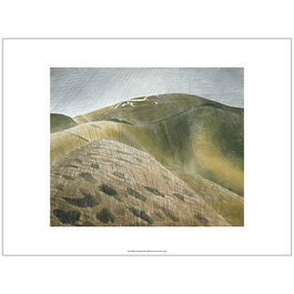 Ravilious The Vale of the White Horse (unframed print)
