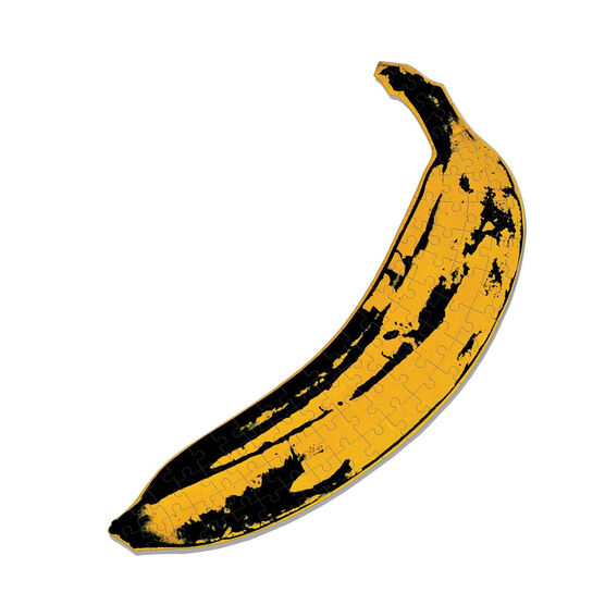 Andy Warhol Banana mini puzzle