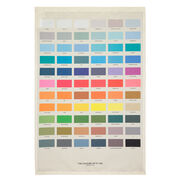 The Colours of St Ives tea towel