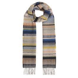 William Blake inspired pale scarf