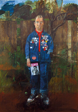 Blake: Self-Portrait with Badges