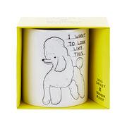 David Shrigley Poodle mug