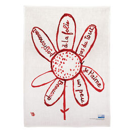 Louise Bourgeois Virtues tea towel