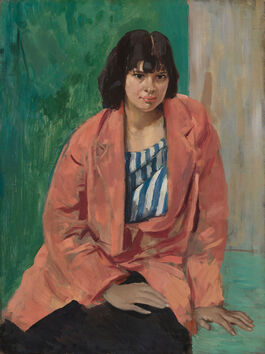 Augustus John: The Orange Jacket