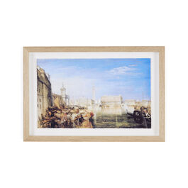JMW Turner Bridge of Sighs (framed print)