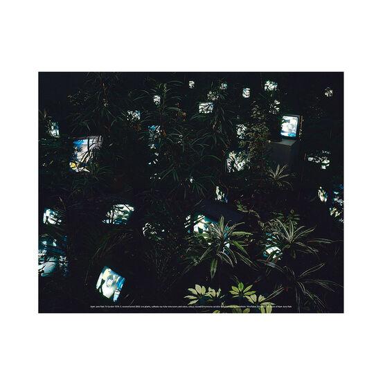 Nam June Paik: TV Garden mini print
