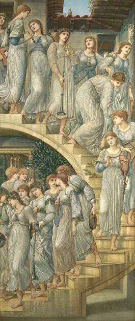 Edward Burne-Jones: The Golden Stairs