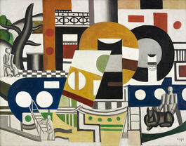 Fernand Léger: The Tugboat