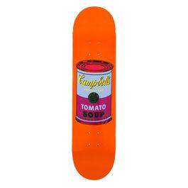 Warhol: Campbell's Soup Can skateboard - orange