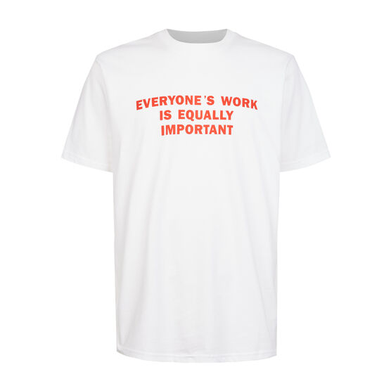 Jenny Holzer Everyone's Work t-shirt