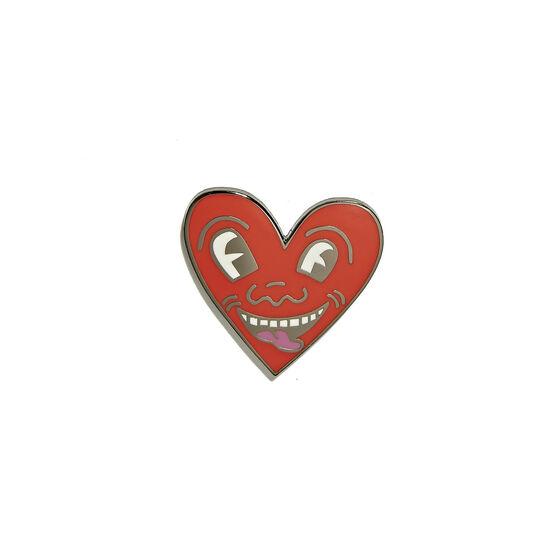 Keith Haring Heart Pin Badge