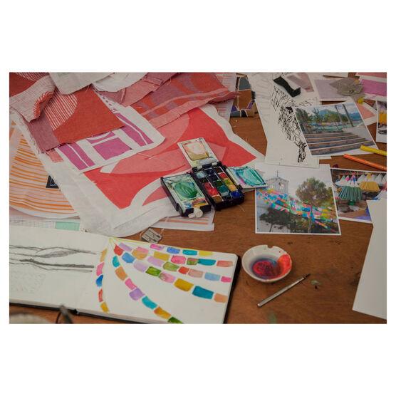 Georgia Bosson studio table