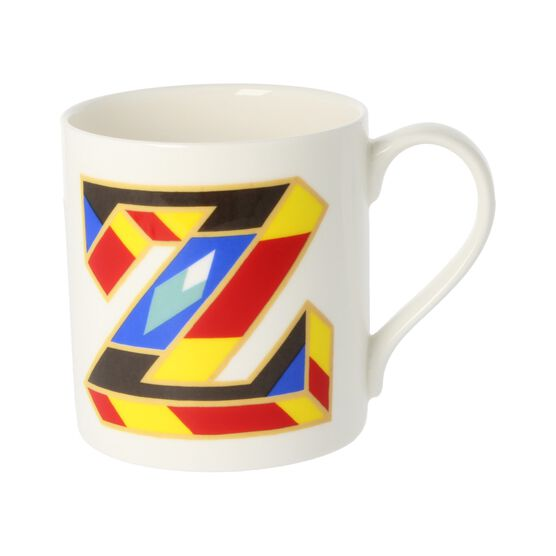 Alphabet of art mug - Z