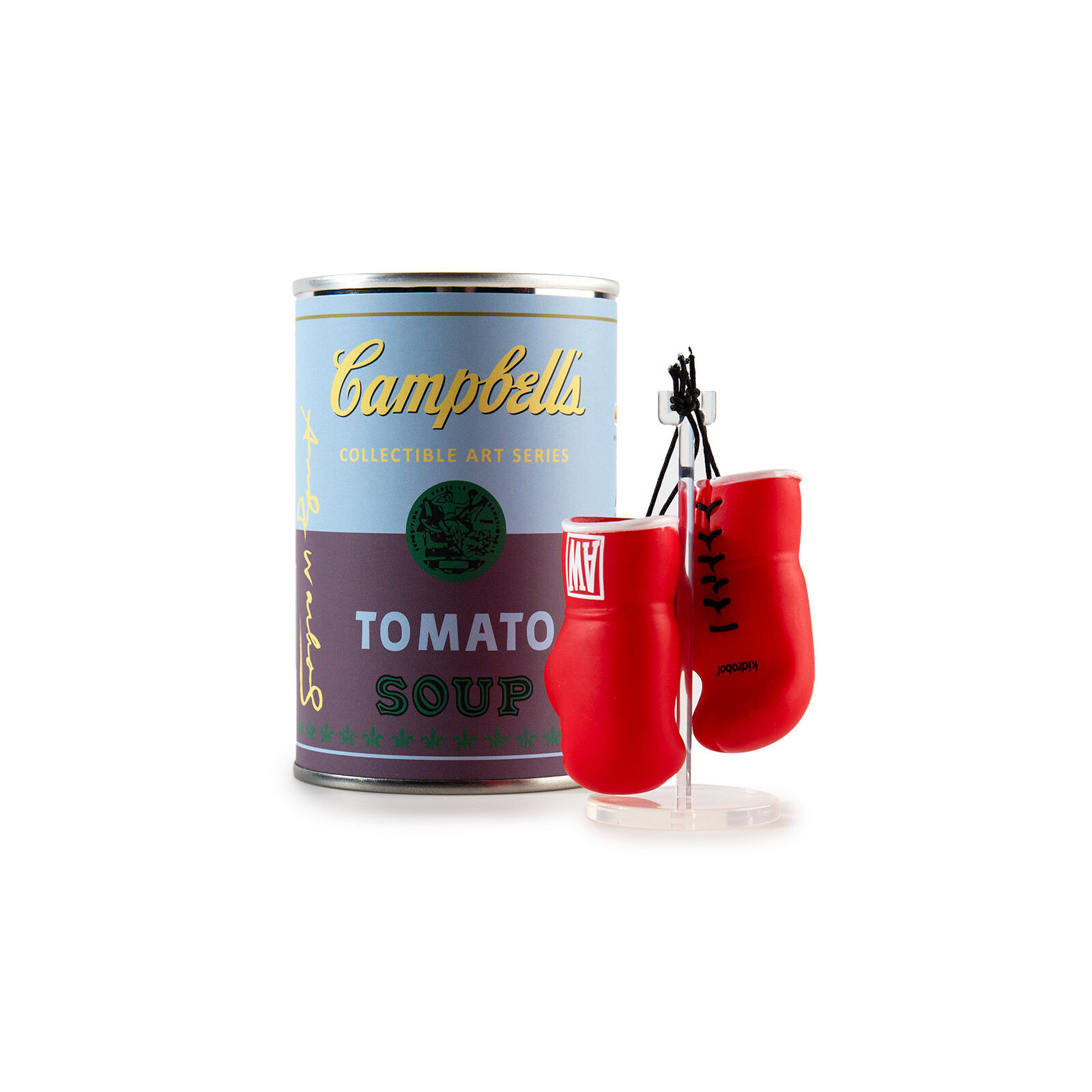 Andy Warhol Soup Can Series Kidrobot Plush Robot 2//24 Rarity