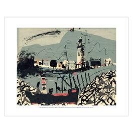 John Piper: Newhaven mini print