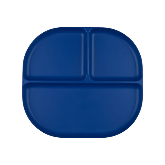 Bamboo blue divider plate