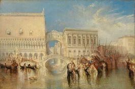 Turner: Venice, the Bridge of Sighs