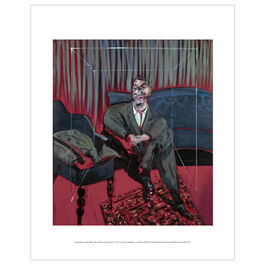 Francis Bacon: Seated Figure mini print