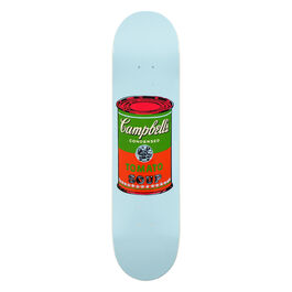 Warhol: Campbell's Soup can skateboard - red