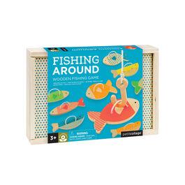 Fishing Around wooden fishing game
