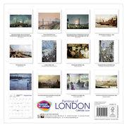 Paintings of London 2021 calendar