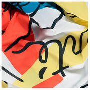 Fernand Léger Freedom, Peace, Solidarity scarf