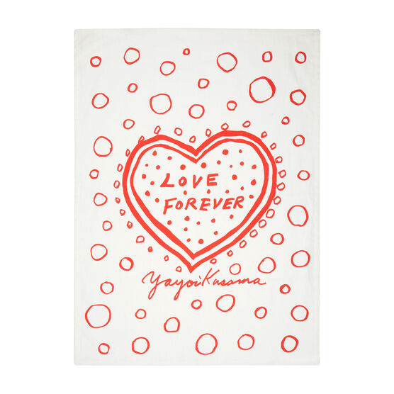 Yayoi Kusama Love Forever set of two tea towels