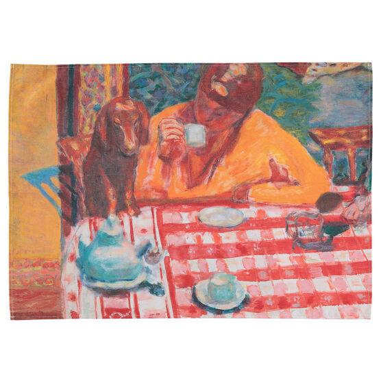 Pierre Bonnard Coffee tea towel