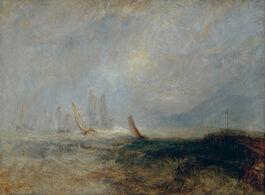 Turner: Fishing Boats Bringing a Disabled Ship