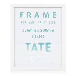 White mini print frame