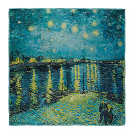 Van Gogh Starry Night over the Rhône silk scarf