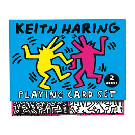 Keith Haring playing card set