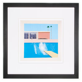 David Hockney A Bigger Splash (framed print)