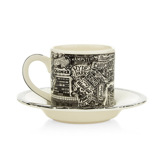 Vic Lee espresso cup and saucer