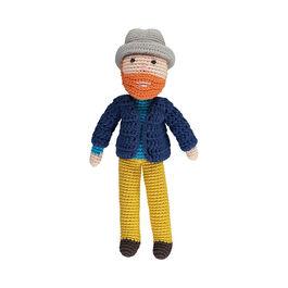Van Gogh crochet doll