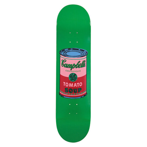 Warhol: Campbell`s Soup skateboard - blood