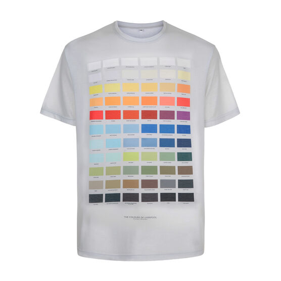 The Colours of Liverpool t-shirt