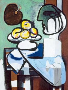 Pablo Picasso: Still Life: Bust, Cup and Palette