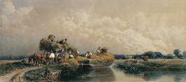 Peter De Wint: Roman Canal, Lincolnshire