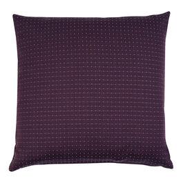 Puntino cushion - burgundy