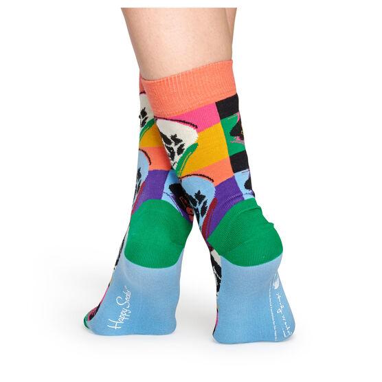Andy Warhol Skull socks