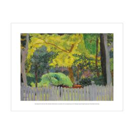 Pierre Bonnard: The Violet Fence (mini print)