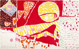 Patrick Heron: Red Garden Painting