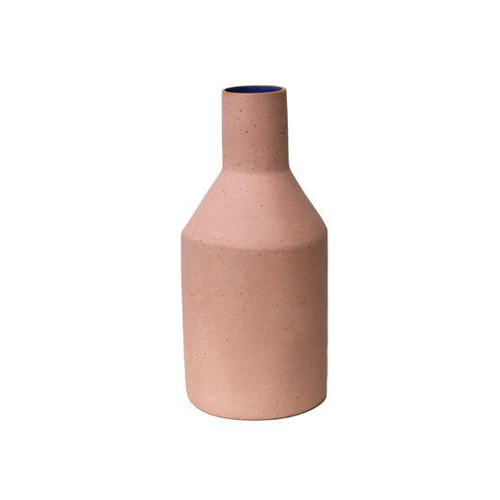 Slim pink vase