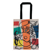 Léger Two Women Holding Flowers tote bag