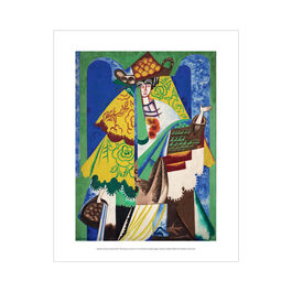 Natalia Goncharova: Orange Vendor mini print