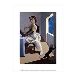 Paula Rego The Policeman's Daughter  exhibition art print