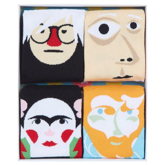 Modern artist socks (set of four)