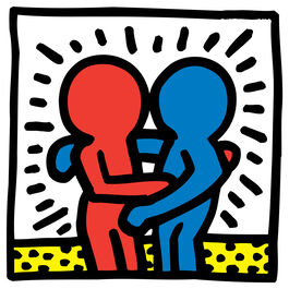 Keith Haring: Figures Embracing